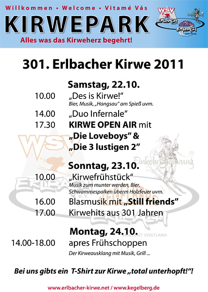 Programm Kirweplatz 2011