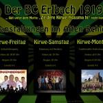 Kirwe 2012 - Veranstaltungen im Alten Schloss