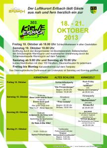 Kirwe-Plakat 2013