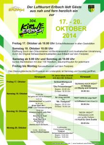 Kirwe-Plakat 2014